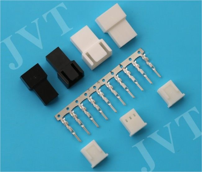 2.5mm Pitch 5A AC / DC Wire to Wire Connector , Tin Plated 2 - 12 Pin Terminal Connectors