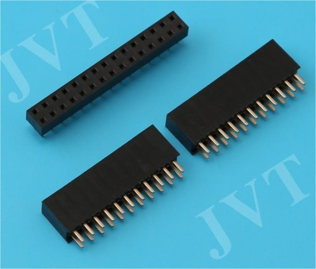 2 - 80 Poles Dual Row 2.54mm Female Header Double Row  2x6 Pins SMT SMD Female Header Socket