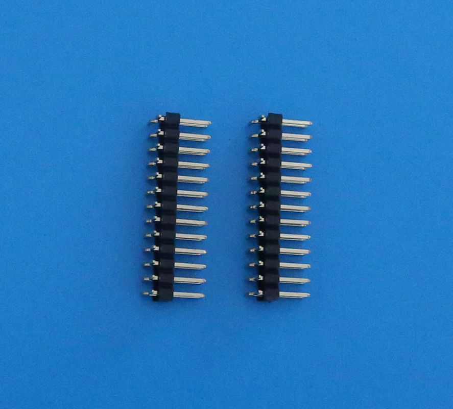 Double Row Surface Mount Technology Pin Socket Connector 2.54mm Pitch 16 Pins Vertical