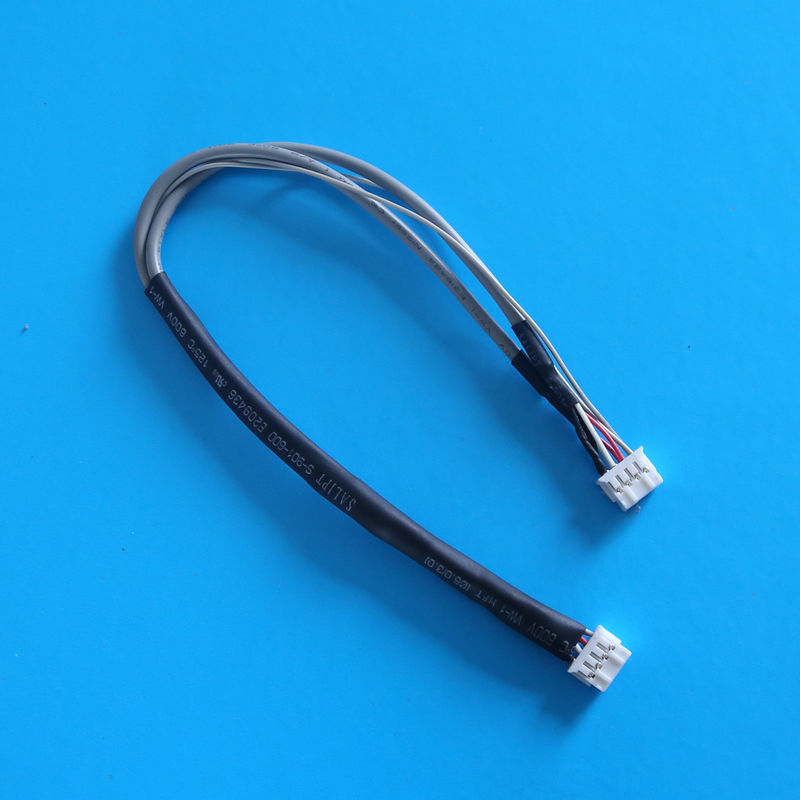 2.0mm Dimension 4 Poles FEP Wire Harness and Cable Assembly High Density Integration