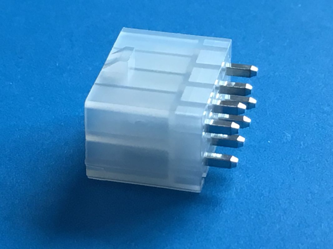 Surface Mount Technology High Speed Electrical Connector 4.2mm Pitch 2 * 4 Poles
