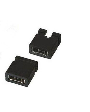 PBT Material 2 Poles Mini Jumper Connector for PCB  #28 - 32 Applicable Wire