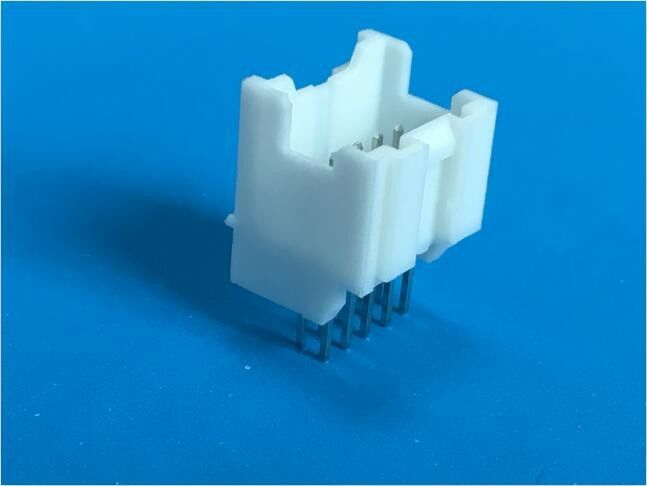 2.0 Mm Straight Dual Row PCB Board Connector Nylon 66 UL94V-0 2x5 Pin Shrouded Header