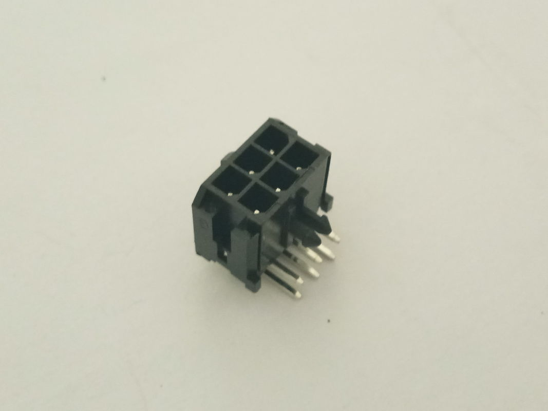 Right Angle Waterproof Automotive Connectors Dip Wafer Wiring Circuit Components Wire