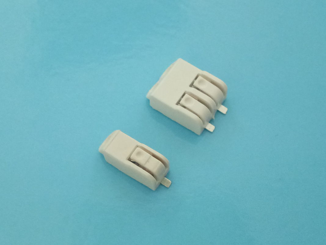 2 Pole SMD LED Quick Connector 4.0mm Pitch Terminal Block Connectors 9A AC / DC