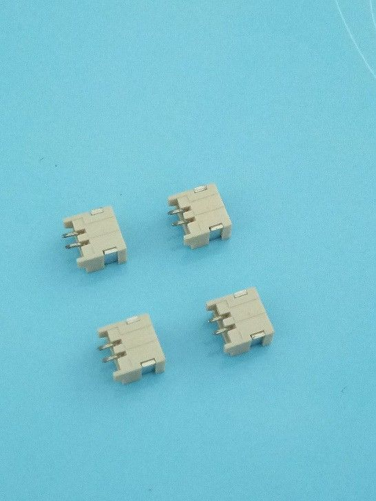 GHR1.25mm SMT Right Angle 2 Pole Wafer Connector with Beige Color