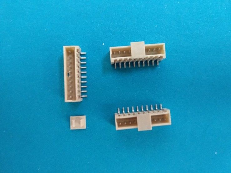 JVT 1.5mm Right Angle PCB Connector Wire to Board , 2-15 Pin , SMT Type Tin-plated