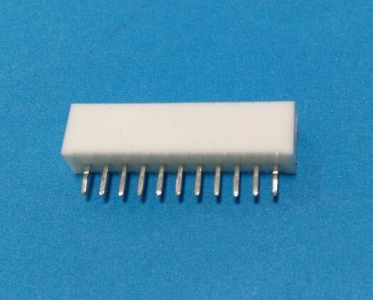 PH 2.0mm Pitch 11 Pin DIP Printed Circuit Board Connector Side Entry White Color