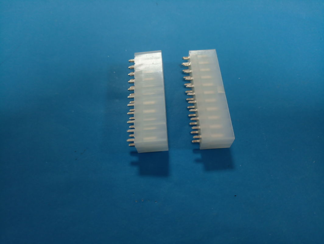 Durable Wafer Double Row Circuit Board Pin Connectors PA66 UL94V -2 Material