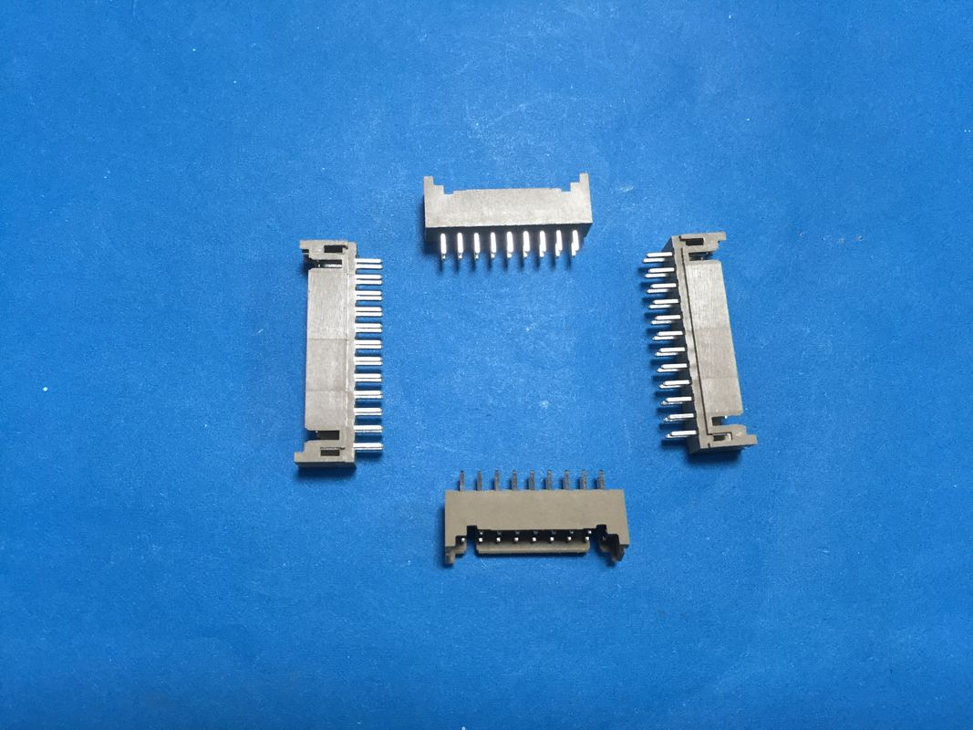 PHD 2.0mm Pitch PCB Board Connector , Straight Angle Pcb Pin Connector Dual Row