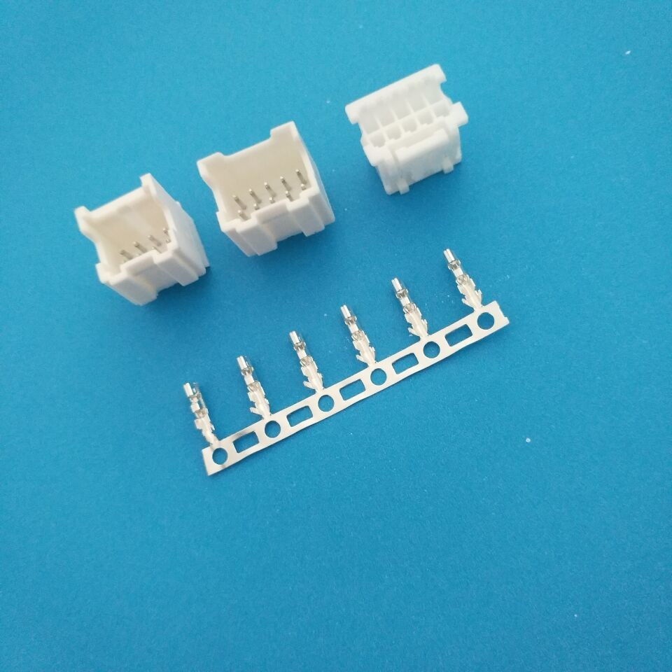 2.0mm Auto Electrical Connectors With Lock / Wire To Board ...