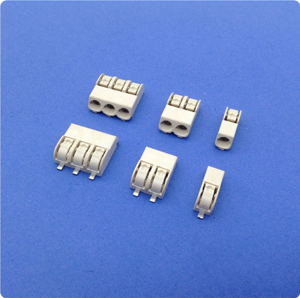 4 mm Pitch SMD LED Connector 2 Poles Tin - Plated Terminal Block