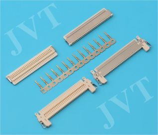 China FI-X Series Nylon 46 UL94V-0 Beige 1.0mm 30 Pin LVDS Connectors for Thin LCD Interface distributor