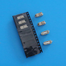 China Brass PIN SMD LED Connector , 4.0mm Pitch 1 Poles PCB Terminal Block Connectors distributor