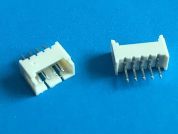 China 2 - 14 Pin PCB Shrouded Header Connector 1.25mm Pitch 3A AC / DC ISO Approval distributor
