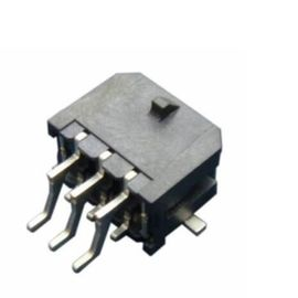 China Right Angle Dual Row SMT Header Connector With Solder Pitch 3.0mm Microfit SMT 43045 distributor