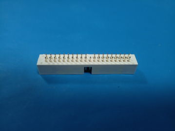 China 2.54mm Pitch Pin Header Connector box header H: 9.0mm  DIP,Color White factory