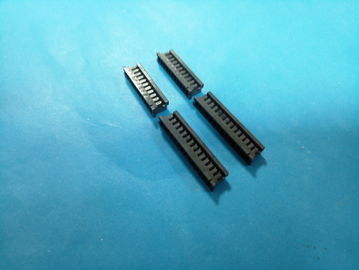 China DF3 2.0mm Housing PCB Board Connector , Wire To Board Connector Black Color factory