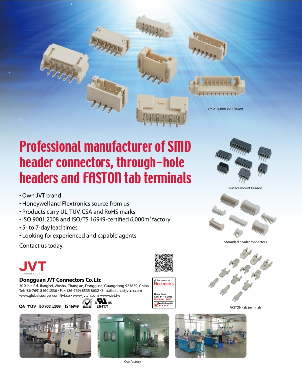 PHB 2.0mm Pitch JVT PCB Header Connectors Vertical Type Dual Row UL94V-0
